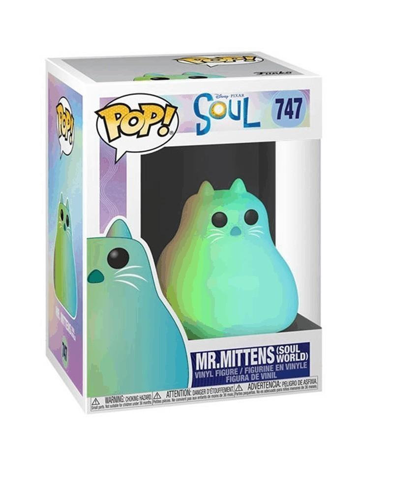 Funko POP Disney/Pixar - Soul - Mr.Mittens (Soul World) caixa