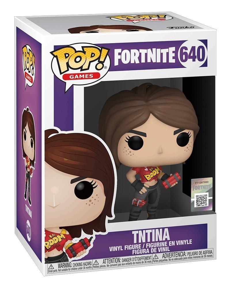 Funko POP Games - Fortnite - TNTina caixa