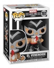 Funko POP Marvel - Lucha Libre - Venom El Venenoide caixa