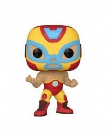 Funko POP Marvel - Lucha Libre - Iron Man El Héroe Invicto