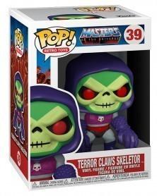 Funko POP Retro Toys - Masters of The Universe - Terror Claws Skeletor caixa