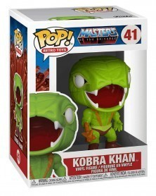 Funko POP Retro Toys - Masters of The Universe - Kobra Khan caixa