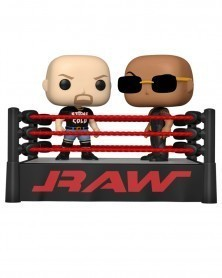PREORDER! Funko POP Moment - WWE - The Rock vs. Stone Cold in Wrestling Ring