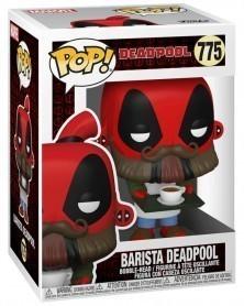 PREORDER! Funko POP Marvel - Deadpool 30th -  Barista Deadpool caixa