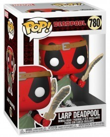 PREORDER! Funko POP Marvel - Deadpool 30th - LARP Deadpool caixa