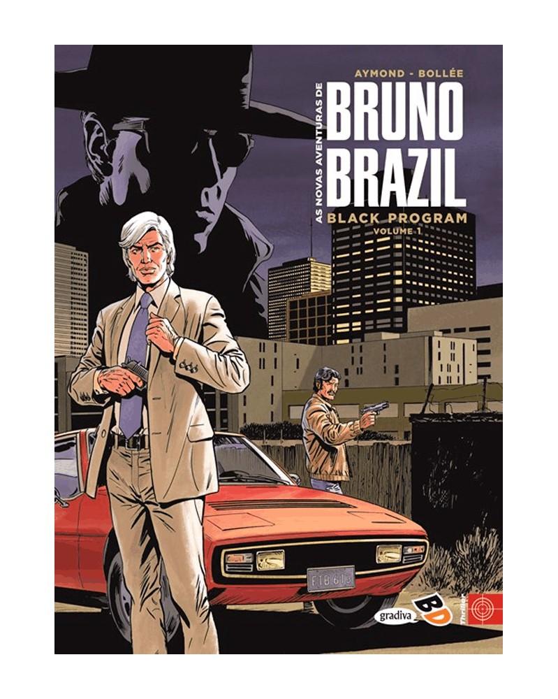 Novas Aventuras de Bruno Brazil: Black Program Vol.1