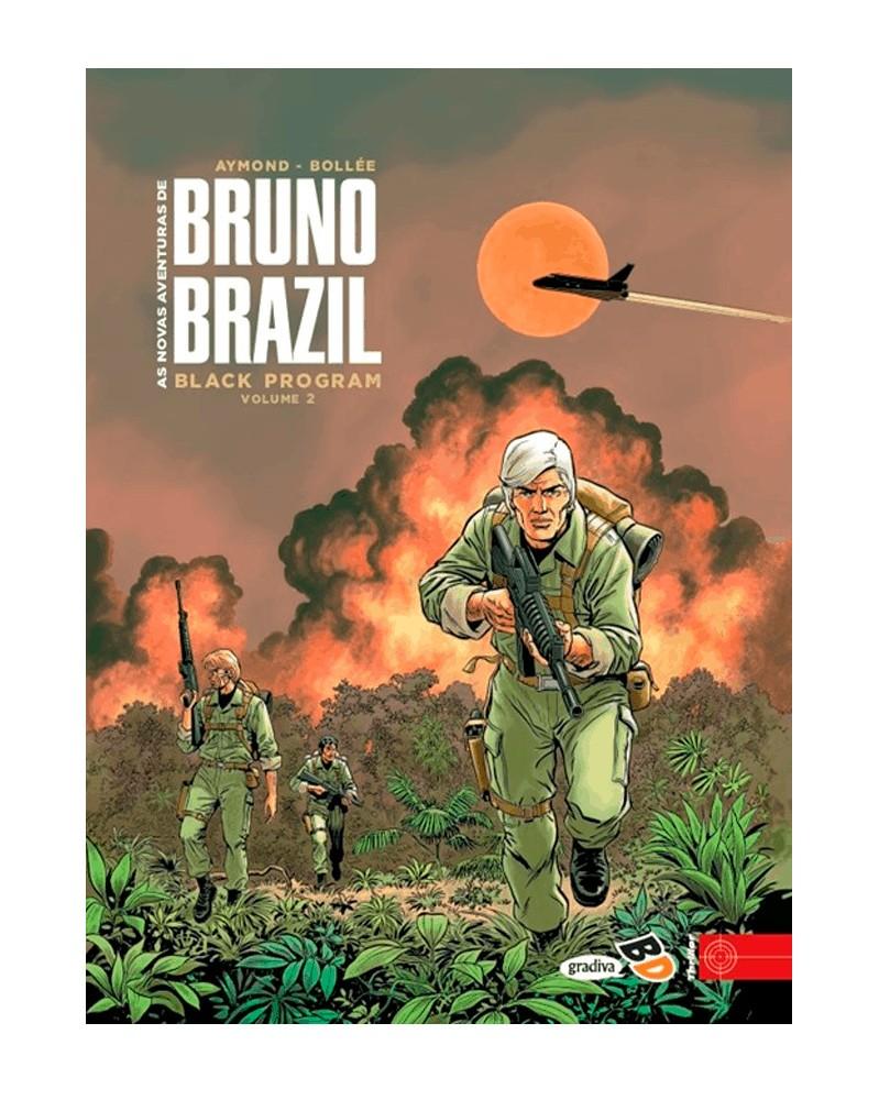 Novas Aventuras de Bruno Brazil: Black Program Vol.2