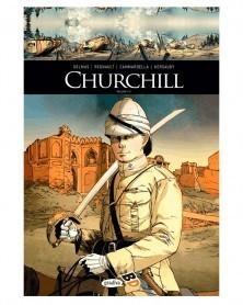 Grandes Figuras da História: Churchill Vol.1 (Edição capa dura)