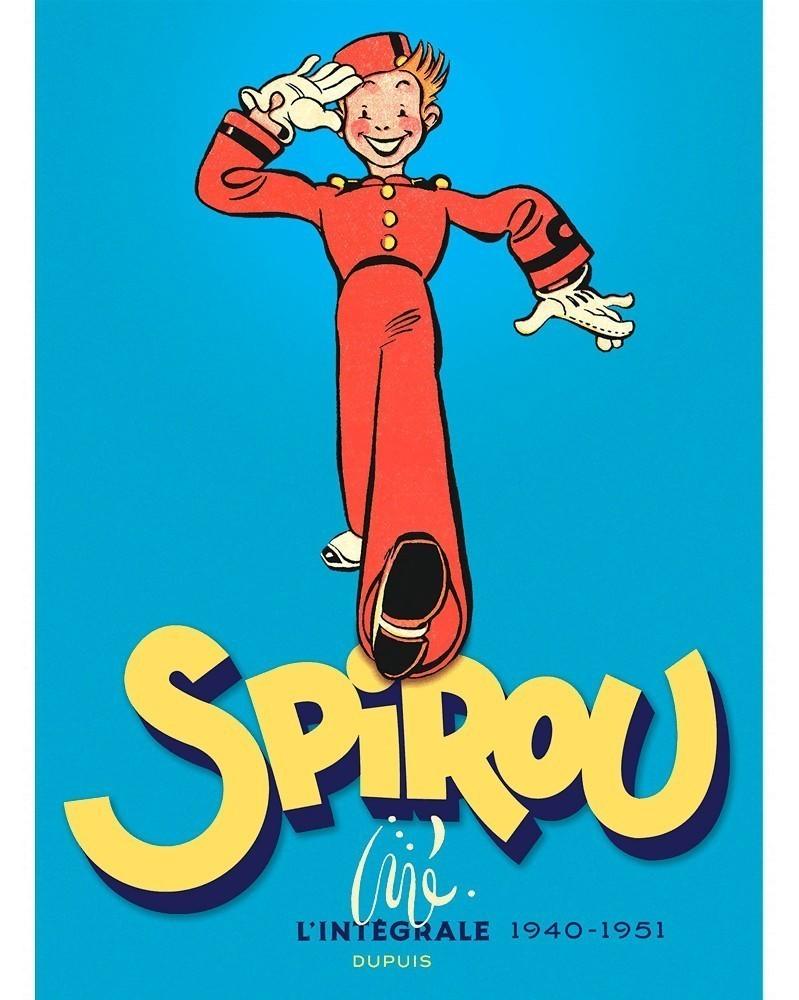 Spirou par Jijé - L'Intégrale 1940-51 (Ed. Francesa)