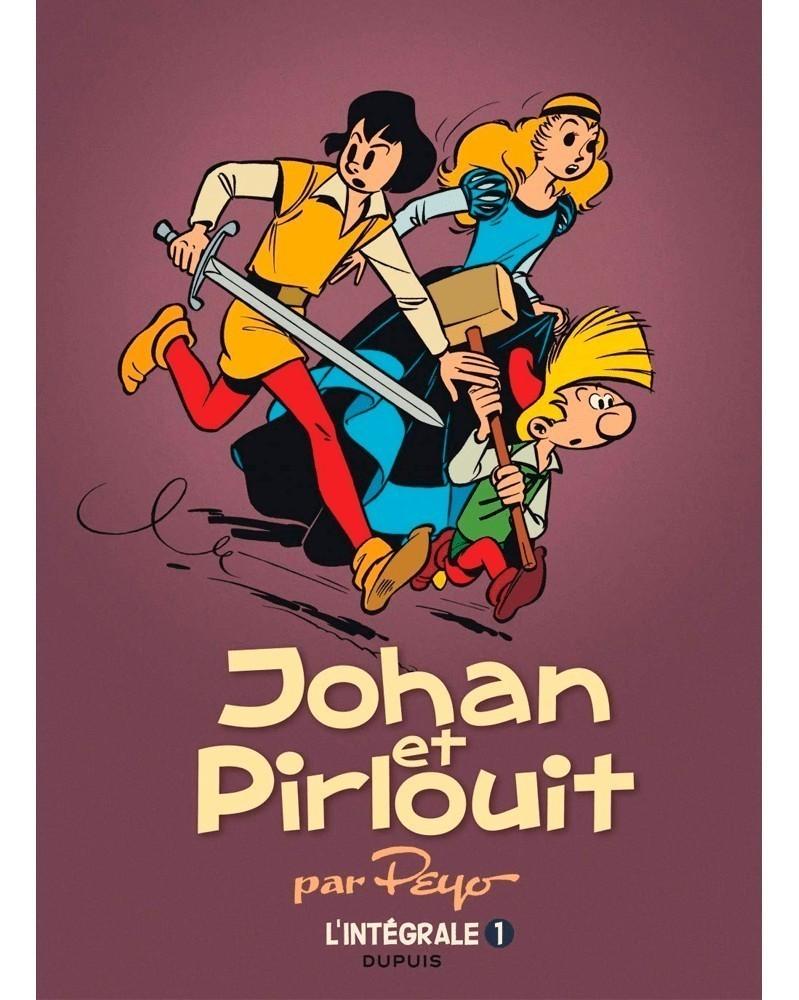 Johan et Pirlouit, de Peyo - L'Intégrale Tome 1 (Ed. Francesa)