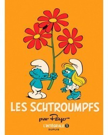 Les Schtroumpfs, de Peyo - L'Intégrale Tome 1 (Ed. Francesa)