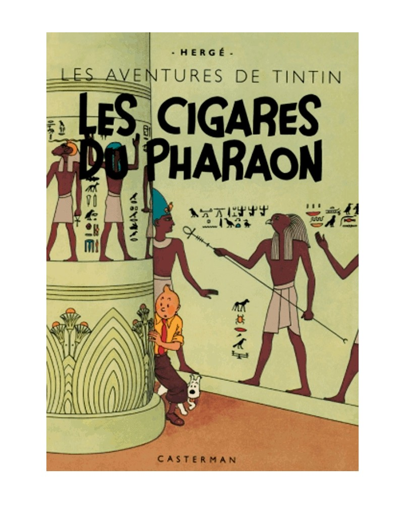 Tintin: Les Cigars du Pharaon - Facsimilé 1942 (Ed. Francesa)