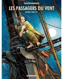 Les Passagers du Vent, de Bourgeon - Intégrale T.1 a 5 (Ed. Francesa)