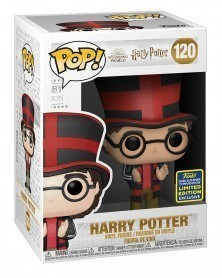 Funko POP Harry Potter - Harry Potter Quidditch World Cup (120) caixa