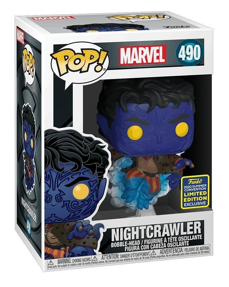 POP Marvel - X-Men Movie 20th Anniv - Nightcrawler Teleporting (Exclusive) caixa