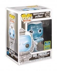 Funko POP Heroes - Batman & Robim - Mr. Freeze (GITD Exclusive) caixa