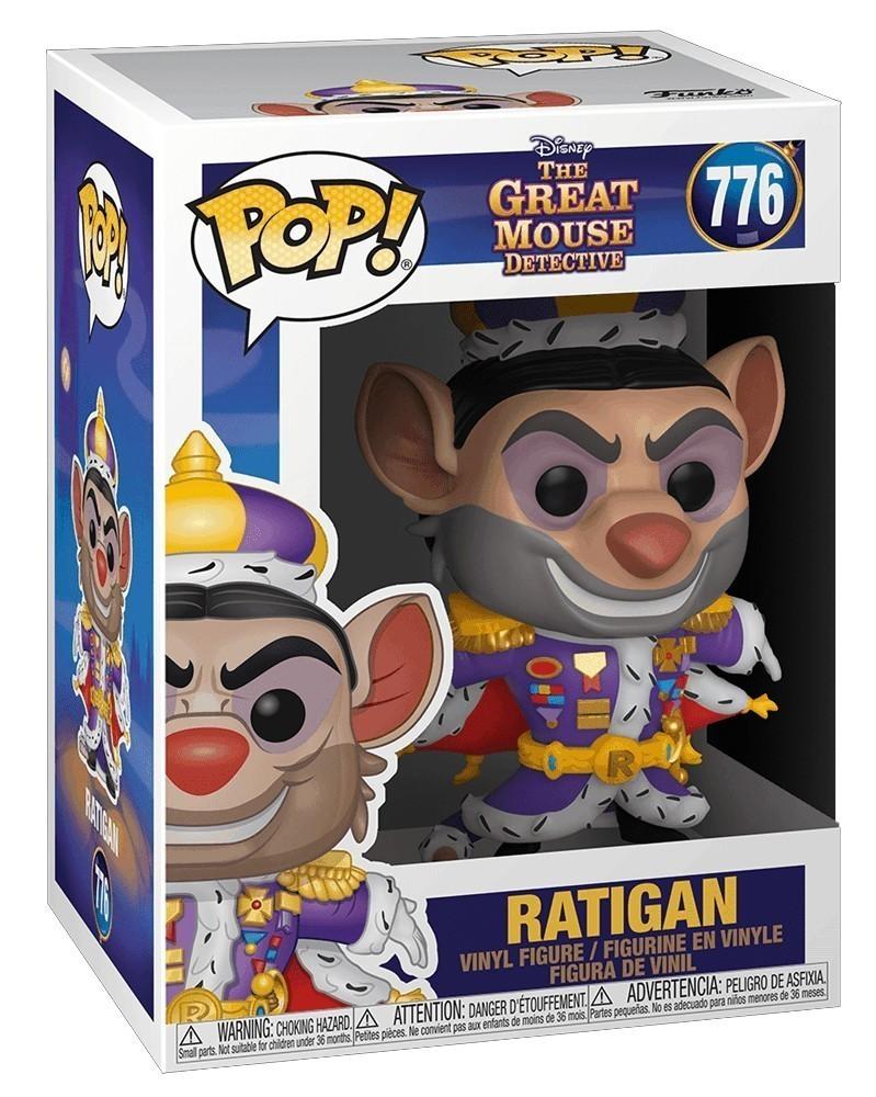 Funko POP Disney- Soul - The Great Mouse Detective - Ratigan caixa