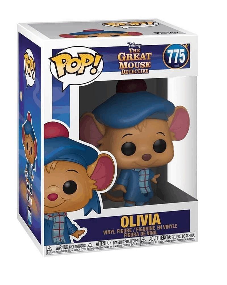 Funko POP Disney - The Great Mouse Detective - Olivia caixa