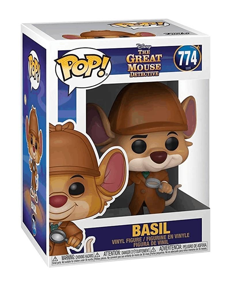 Funko POP Disney - The Great Mouse Detective - Basil caixa
