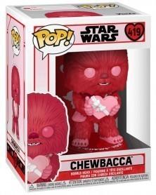 Funko POP Star Wars - Chewbacca (Valentine's Day) caixa