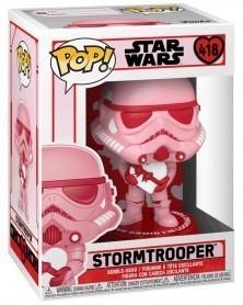 Funko POP Star Wars - Stormtrooper (Valentine's Day) caixa