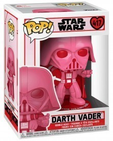 Funko POP Star Wars - Darth Vader (Valentine's Day) caixa