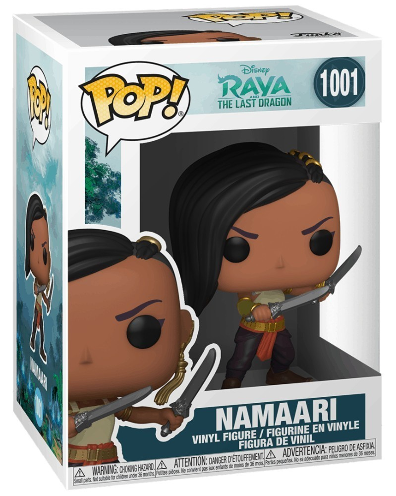 Funko POP Disney - Raya and The Last Dragon - Namaari caixa