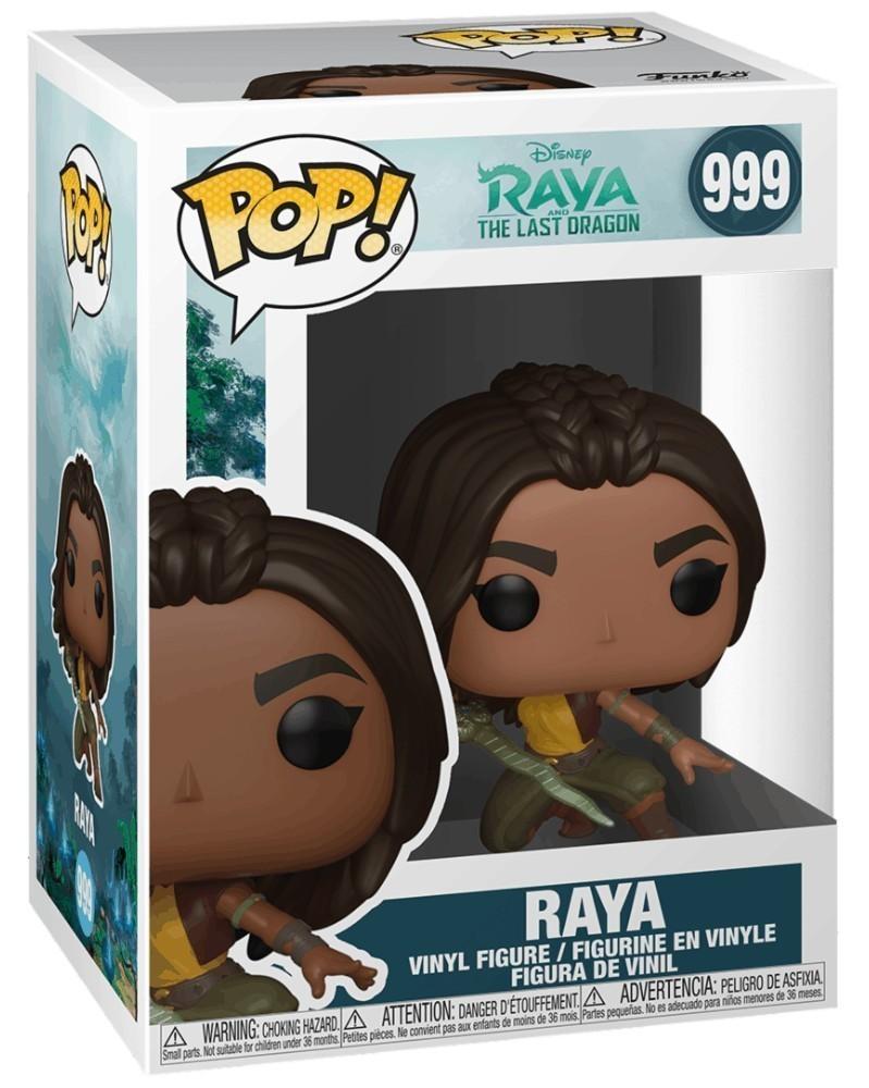 Funko POP Disney - Raya and The Last Dragon - Raya (Warrior Pose) caixa