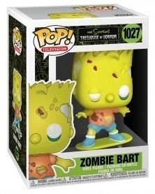Funko POP TV - The Simpsons Treehouse of Horror - Zombie Bart caixa