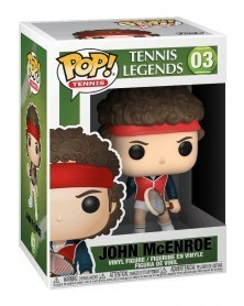Funko POP Sports - Tennis Legends - John McEnroe caixa