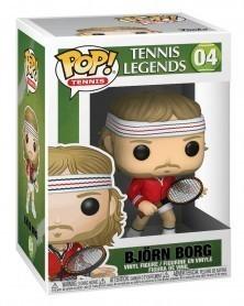 Funko POP Sports - Tennis Legends - Björn Borg caixa