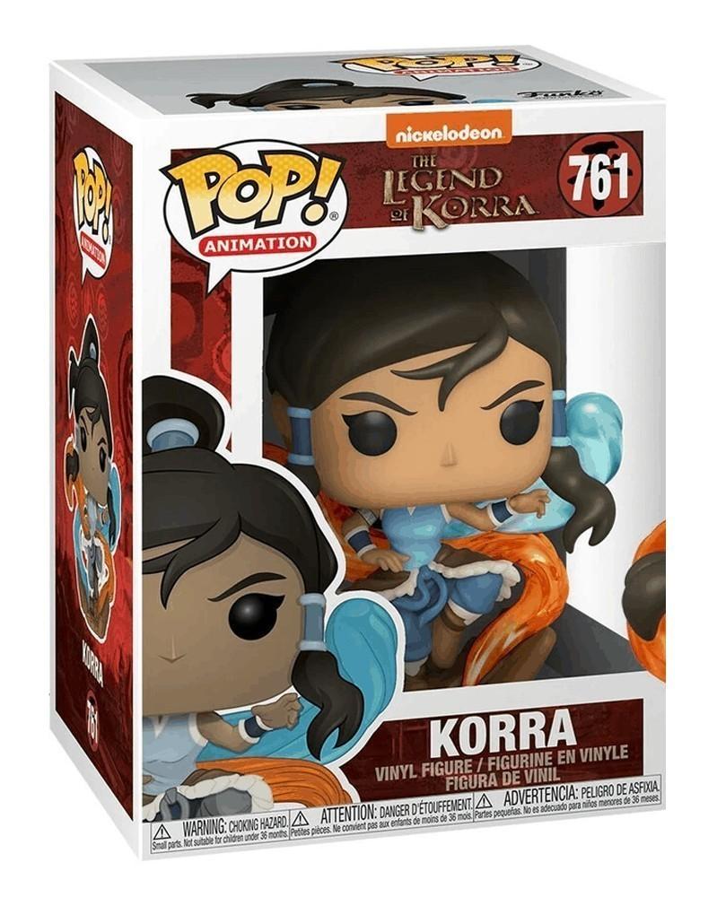 Funko POP Animation - The Legend of Korra - Korra caixa