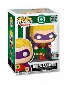 Funko POP Heroes - Green Lantern (Alan Scott, Exclusive) caixa