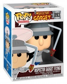 Funko POP Animation - Inspector Gadget (Flying) caixa