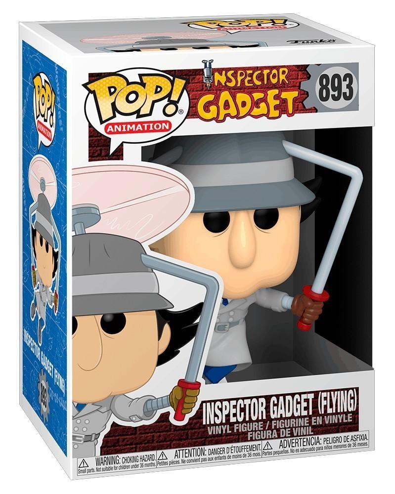 Funko POP Animation - Inspector Gadget (Flying) caixa