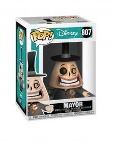 Funko POP Disney - Nightmare Before Christmas - Mayor (w/Megaphone) caixa