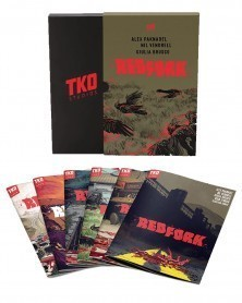 Red Fork: 6-issue Box Set, de Alex Paknadel e Nil Vendrell (TKO Studios)