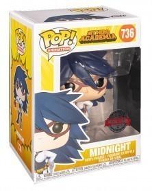 Funko POP Anime - My Hero Academia - Midnight (Exclusive) caixa