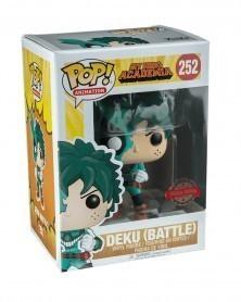 Funko POP Anime - My Hero Academia - Deku (Battle Damaged) caixa