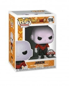 Funko POP Anime - Dragonball Super - Jiren (Exclusive) caixa