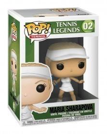 Funko POP Sports - Tennis Legends - Maria Sharapova caixa
