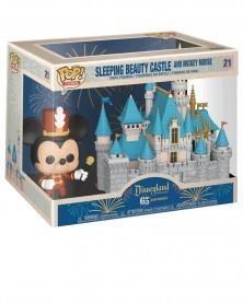 copy of POP Disneyland 65th Anniversary - Sleeping Beauty Castle & Mickey Mouse caixa