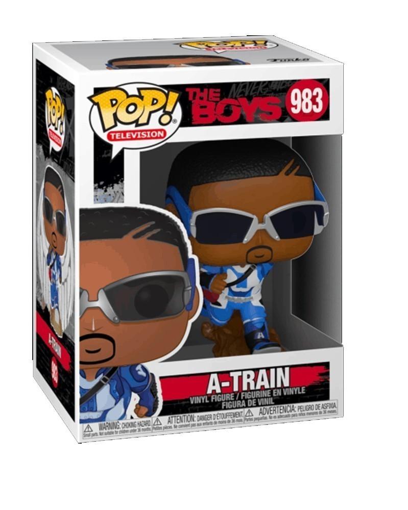 Funko POP TV - The Boys - A-Train caixa