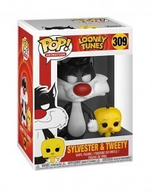 Funko POP Animation - DC Looney Toons - Sylvester & Tweety