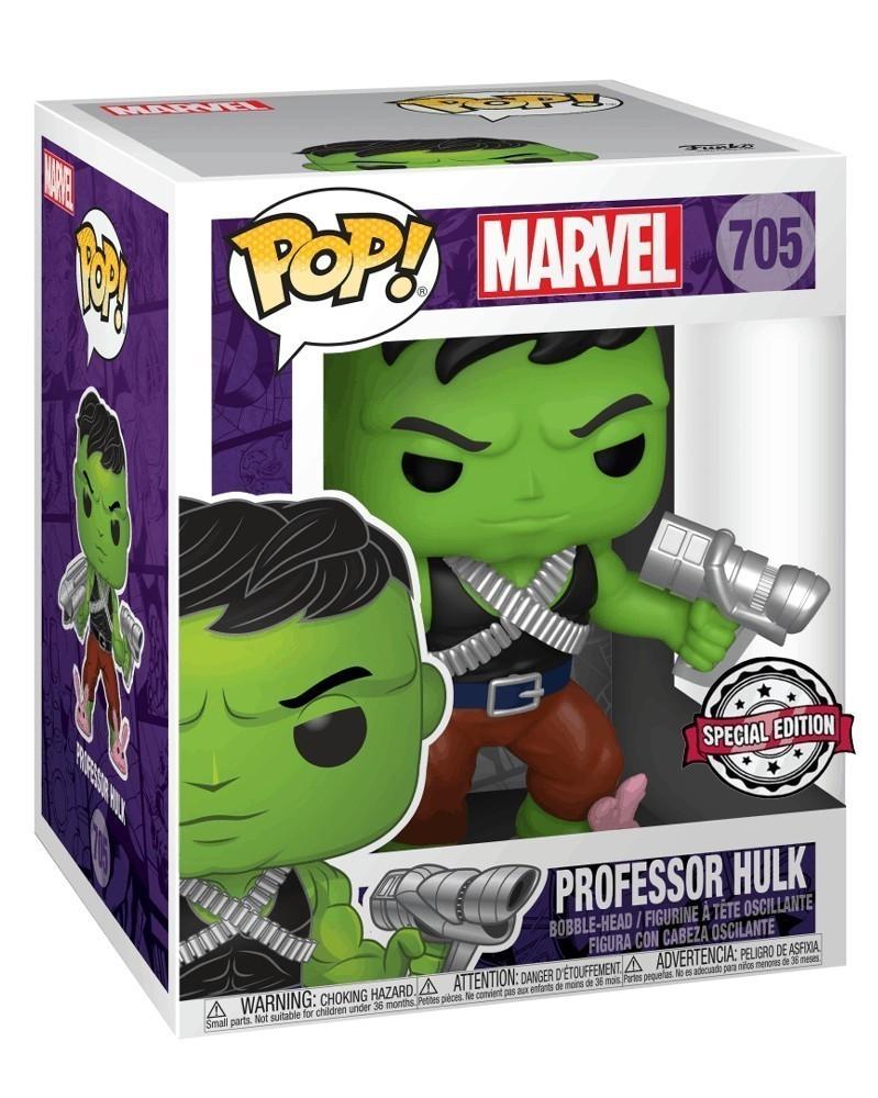 "Funko POP Marvel - Professor Hulk 6"" (Previews Exclusive) caixa"