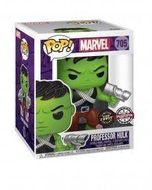 "Funko POP Marvel - Professor Hulk 6"" CHASE! (Previews Exclusive) caixa"