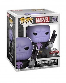 Funko POP Marvel - Thanos Earth-18138 (Previews Exclusive) caixa
