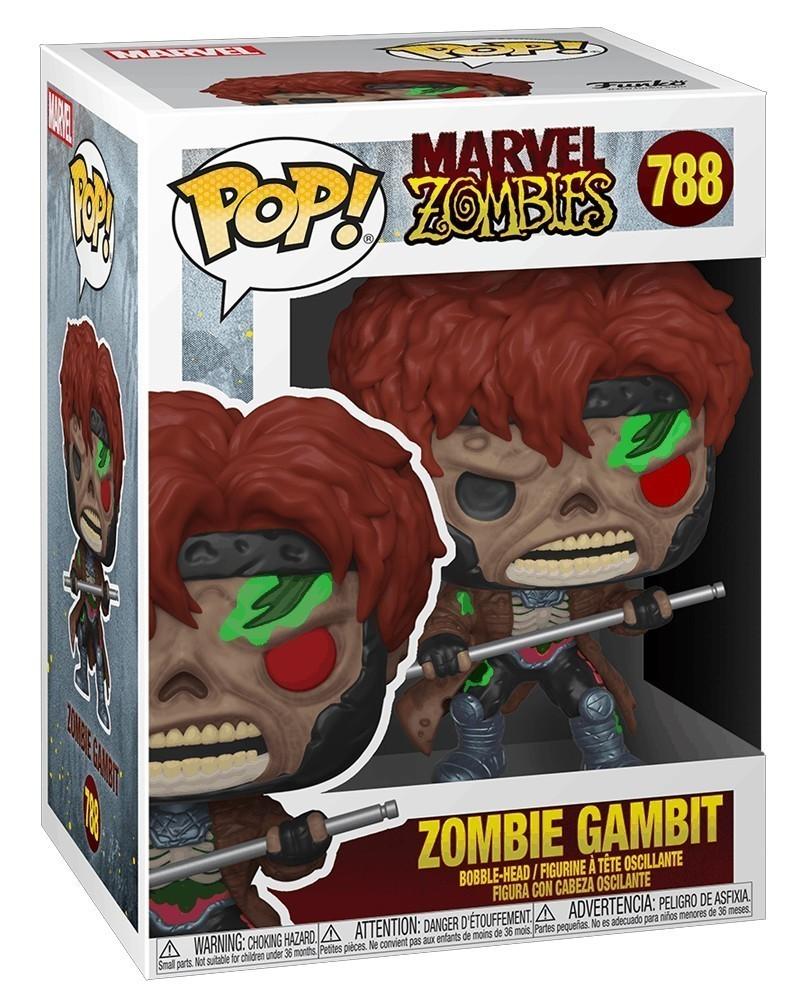 Funko POP Marvel - Marvel Zombies - Zombie Gambit caixa