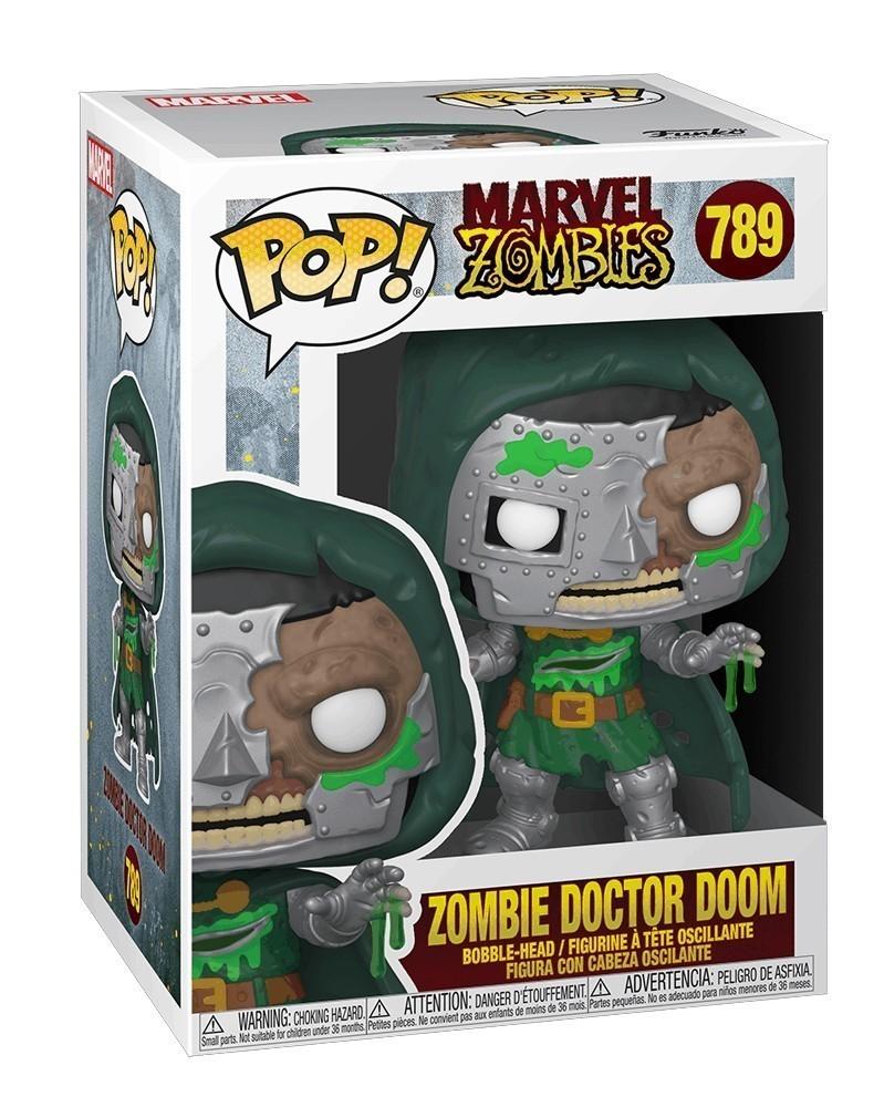 Funko POP Marvel - Marvel Zombies - Zombie Doctor Doom caixa
