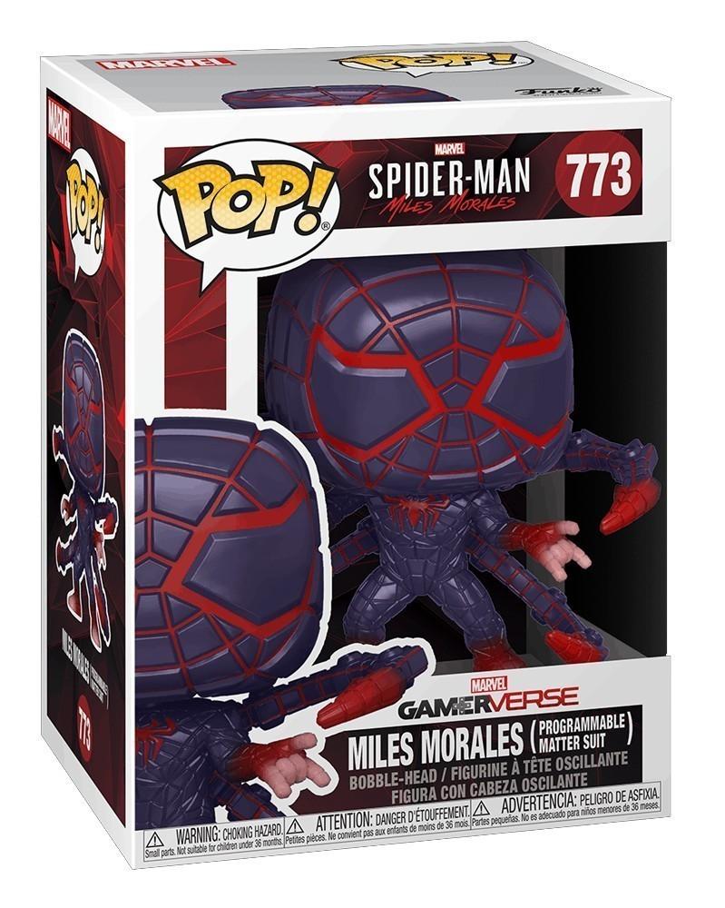 Funko POP Marvel - Spider-Man - Miles Morales (Programmable Matter Suit) caixa